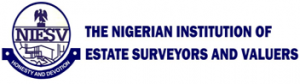 Logo of The Nigeria Institution of Estate Surveyors and Valuers